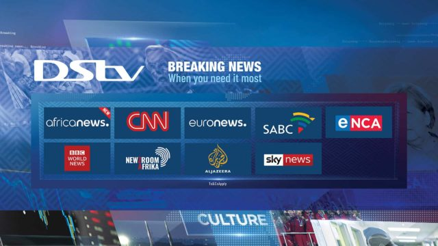 List of DSTV Channels and their codes