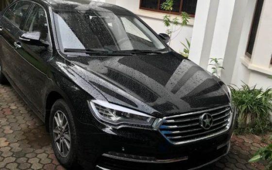 Ofori-Atta Buys A Brand New Kantanka Saloon Car