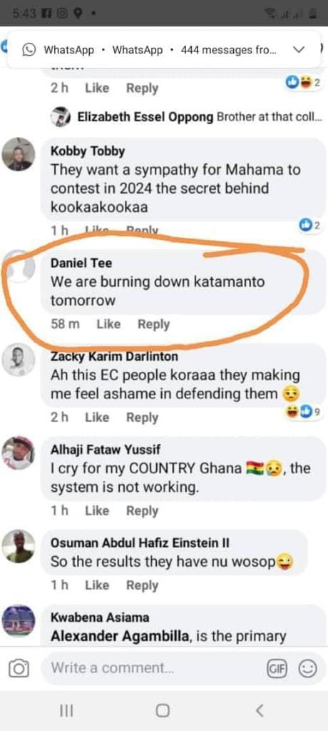 We are burning Katamanto tomorrow