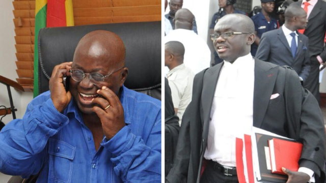 Legal Team of Nana Addo is ready to expose the emptiness of Mahama's Petition