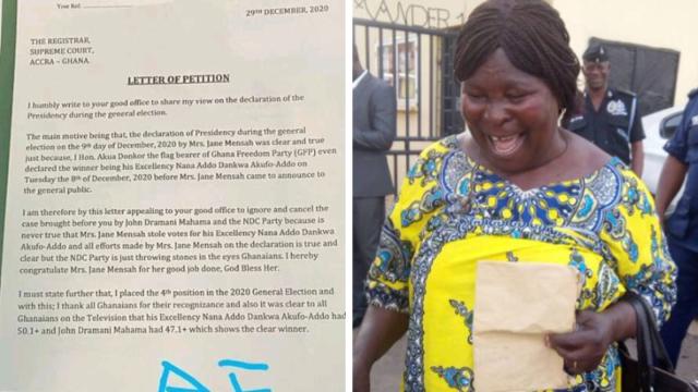 Cancel John Mahama and NDC's Case - Akua Donkor Petitions Supreme Court