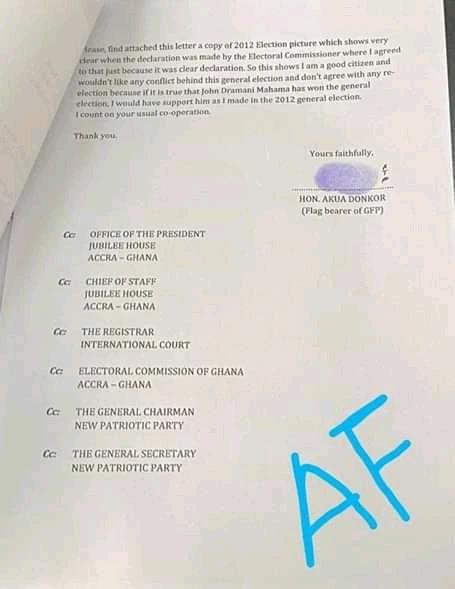 akua donkor petition