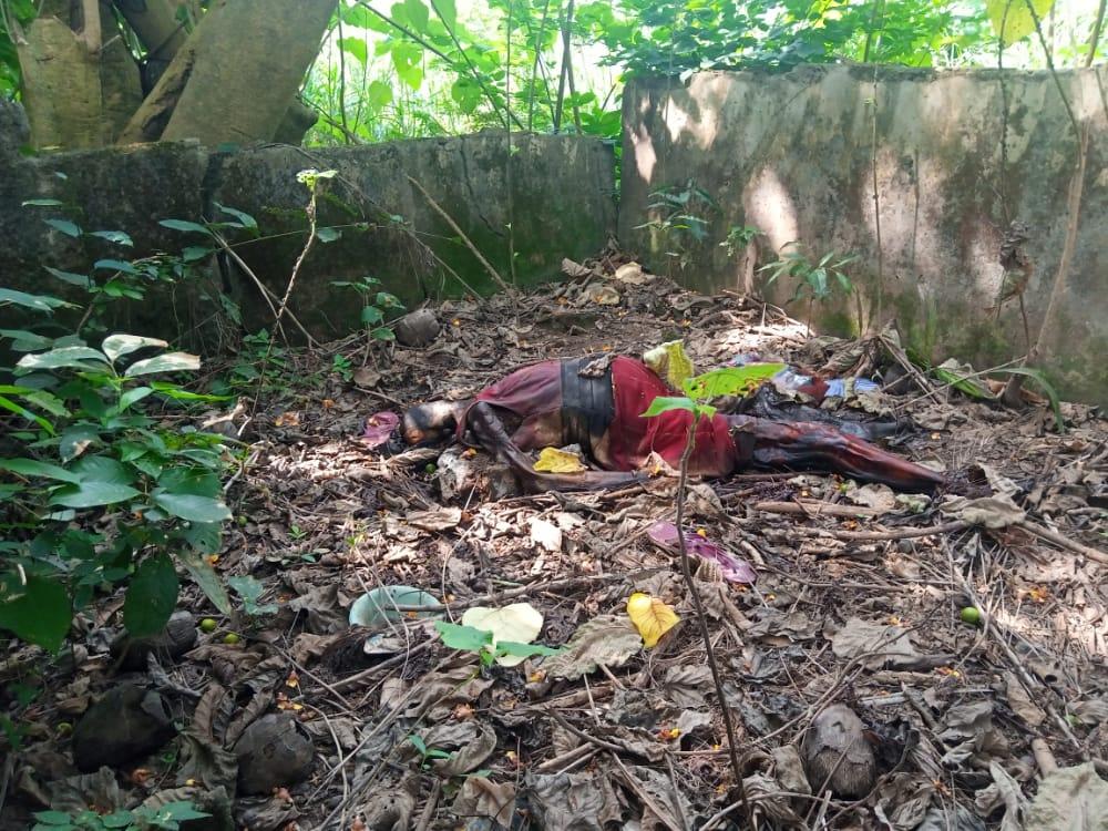 Decomposing body of a pregnant woman found at Kumasi