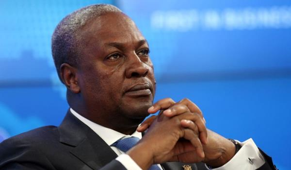 I'm being advised to forgo the issue – John Mahama
