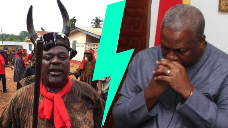 Babies with sharp teeth know that that I don't worship the god of the shrine - Koku Anyidoho bites NDC hard