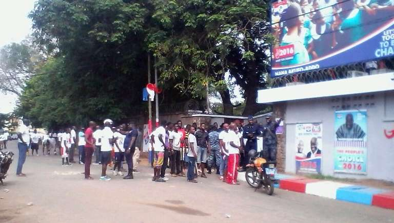 Shop Owners Around Akufo-Addo's Nima Residence Given One Week To Relocate