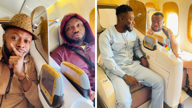 PHOTOS: Celebrities who campaigned for NPP chilling in Dubai
