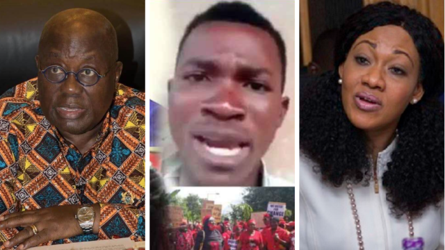Young man rains 'heavy' insults on Nana Addo, Jean Mensa, and the media over the 2020 elections results