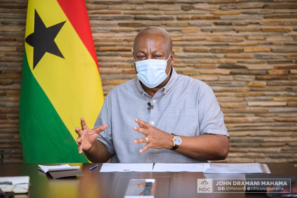 NDC Petition: I want EC, other state institutions to work better – John Mahama