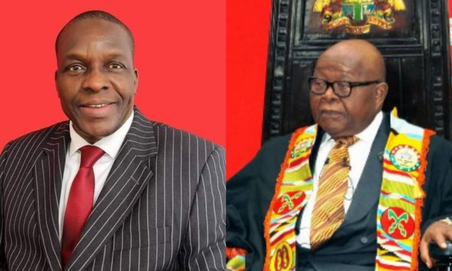 Alban Bagbin beats Prof. Mike Oquaye with 2 more votes to become Speaker of Ghana's 8th Parliament