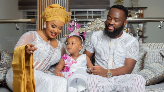 Nana Ama McBrown sets social media on fire as she celebrates baby Maxin's birthday