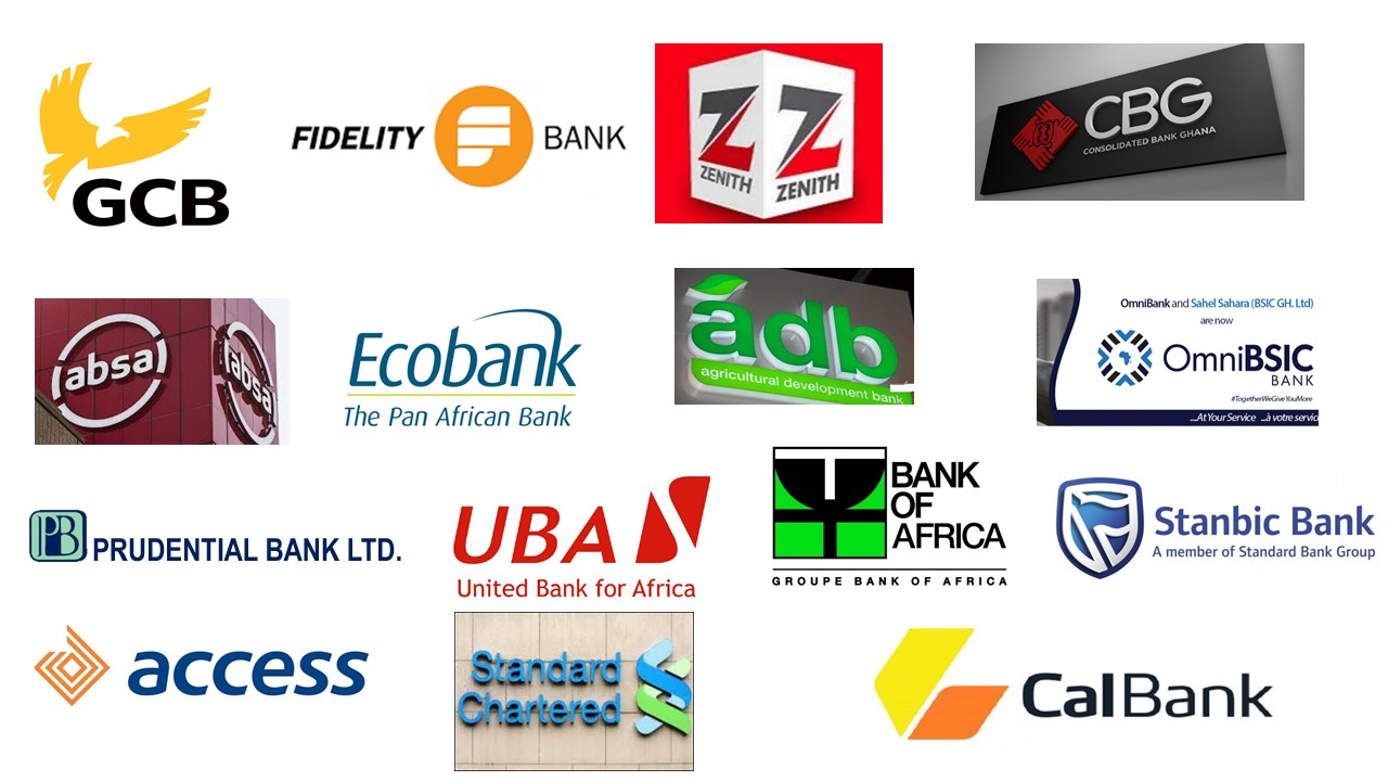 Find SWIFT codes of all banks in Ghana