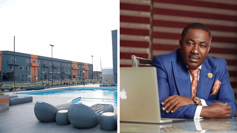 Kwame Despite buys Lizzy Sports Complex