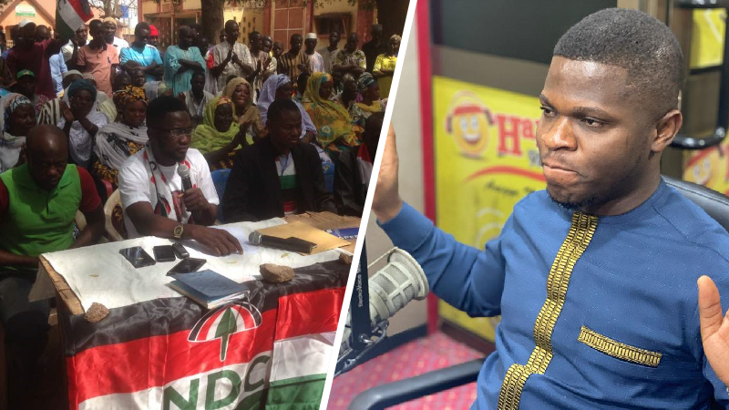 Tell us how you bought those two V8 Land Cruisers - Asawaase NDC youth pour their anger on Sammy Gyamfi