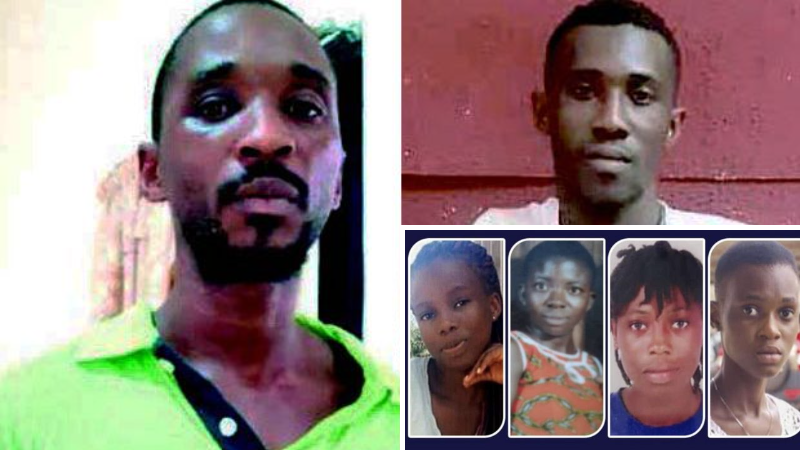 Takoradi Missing Girls: 2 Nigerian nationals sentenced to death by hanging for killing the girls