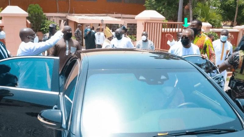 Bawumia and Hon Isaac Osei