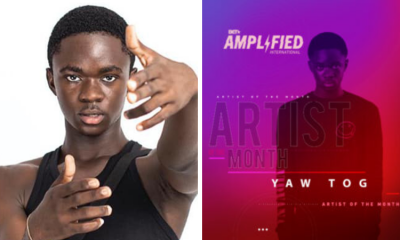 BET names Yaw TOG as Amplified International Artist of the month