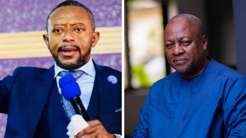 Rev Owusu Bempah gives new serious prophecy about John Mahama