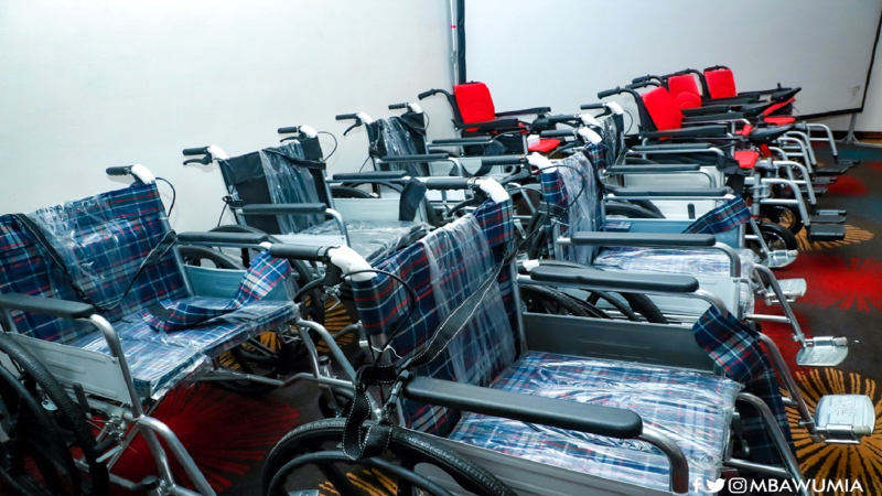 Govt Hands Over 20000 Wheelchairs To Persons With Disability