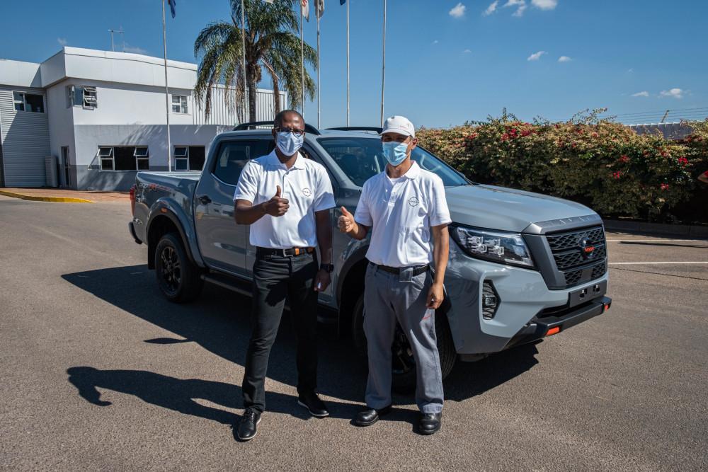 New Nissan Navara now built in Africa