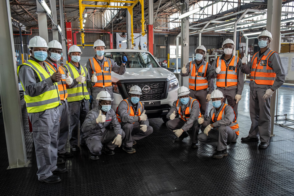 Nissan Assembly plant in Ghana