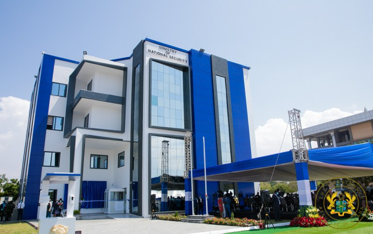 new building for National Security ministry