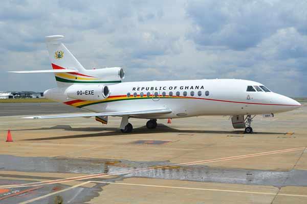 Presidential Jet of the President of Ghana