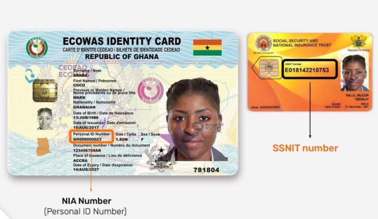 How to merge your Ghana Card Number with your SSNIT number