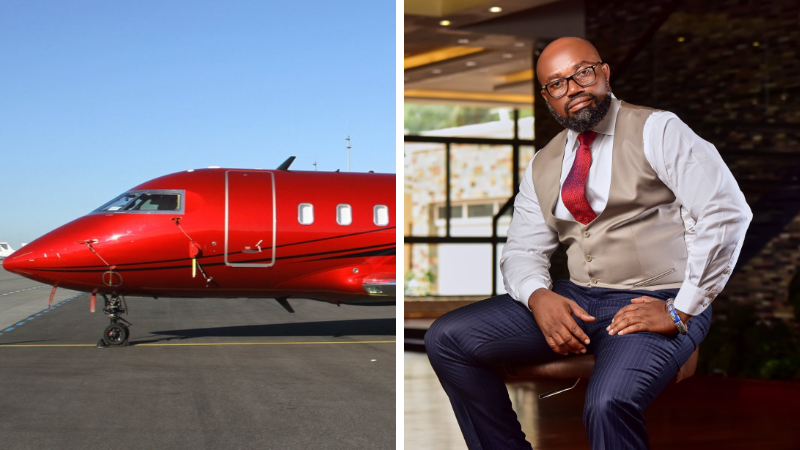 McDan CEO Buys A Private Jet
