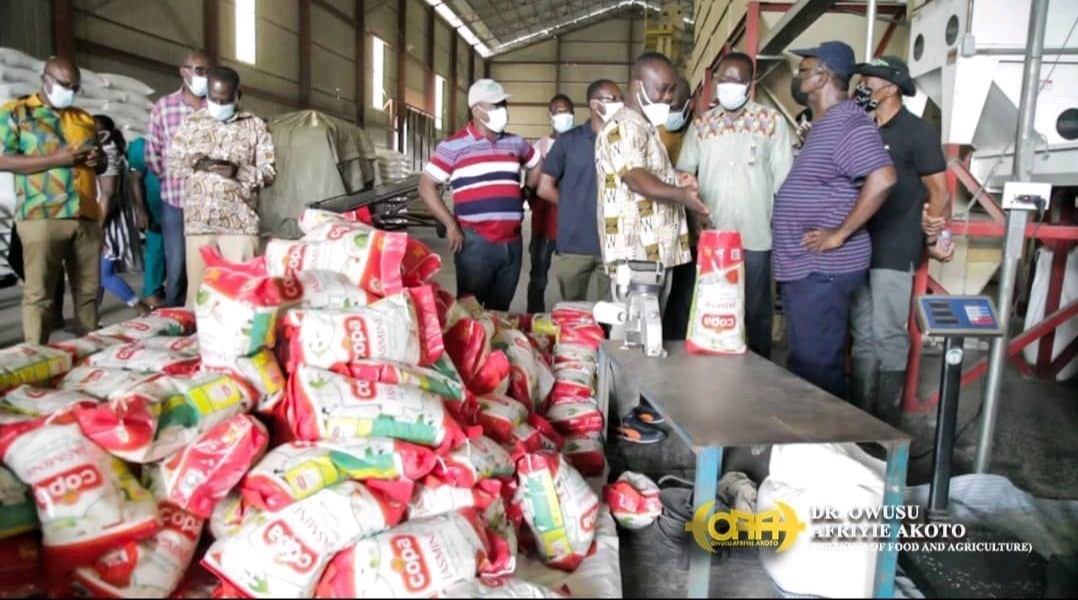 Agric Minister Visits GADCO